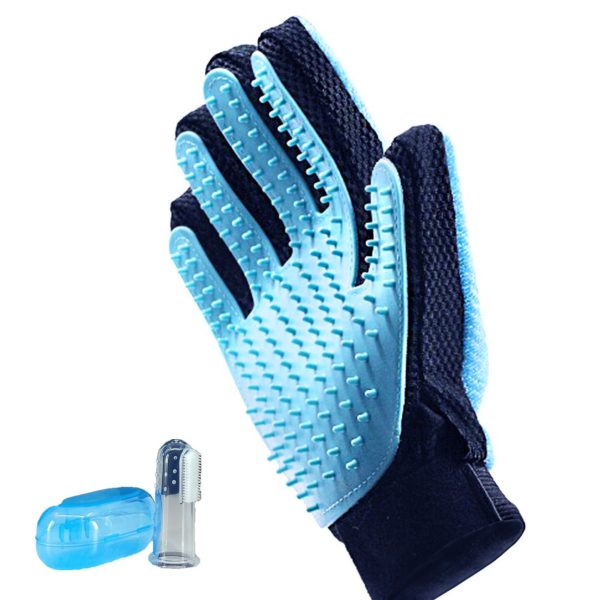 2-in-1 Pet Grooming and Cleaning Glove